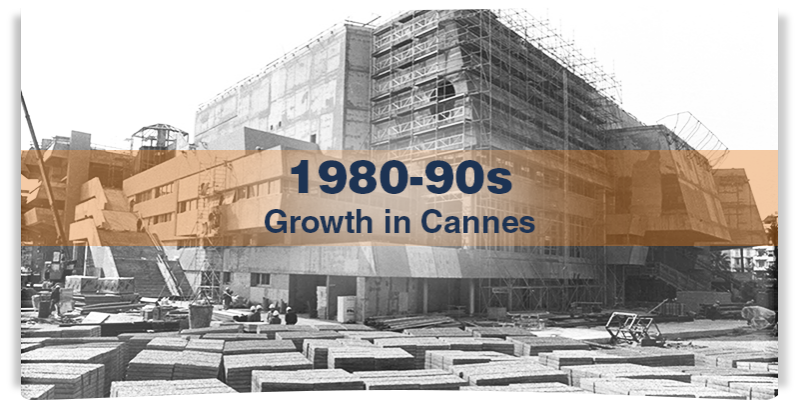1980-90s: growth in Cannes