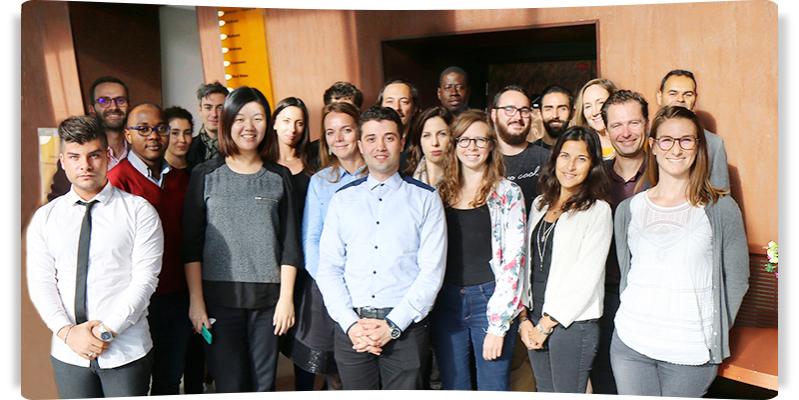Collaboration de groupe chez Reed MIDEM